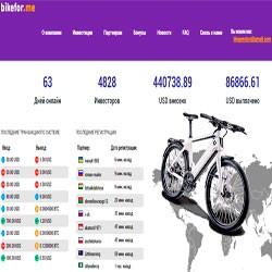 Bike For Me — Профит 136,00% + Увеличение страховки до 2000$!