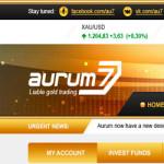 Aurum7 Top (7% в сутки или 110% после 7 дней + Страховка 5000$ + 2,5% RCB + Мой вклад 1000$) — Отзывы и обзор нового масштабного фаста!