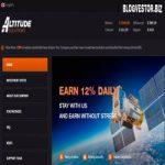 Altitude Solutions (12% в сутки на 12 дней + 2,5% RCB + 500$ Защита + Instant) — Отзывы и Обзор нового среднедоходника с мгновенными выплатами!