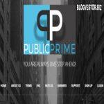 PublicPrime (135-5000% за 1-3-5…45 дней + 2% RCB + 500$ Защита) — Отзывы и Обзор нового иностранного фаста экс-партизана!