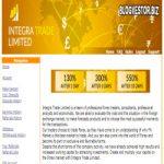 Integra Trade Limited (130-6000% профита за 1-3-5…180 дней работы вклада + 1% RCB) — Иностранный фаст-партизан, наш вклад 200$!
